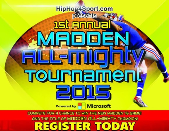 We're Sponsoring The Madden All-Mighty Tournament In Paramus, NJ
