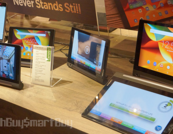 Lenovo Announces The Yoga Tab 3 & Yoga Tab 3 Pro Tablets #IFA2015