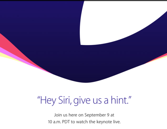 Where To Watch Apple's iPhone 6S Event