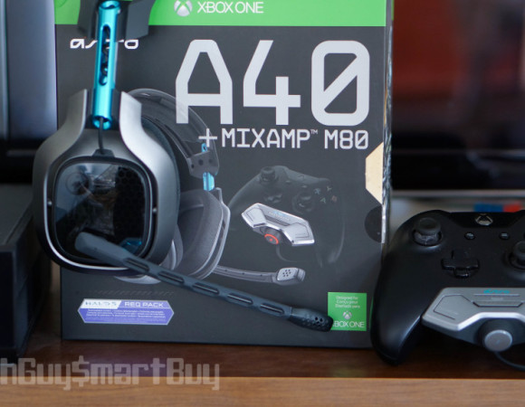 Quick Look At The Astro A40 + Mixamp M80 Halo 5 Edition