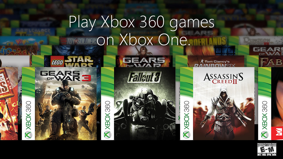 Xbox 360 Games On Xbox One : Here are the xbox games you can play on one