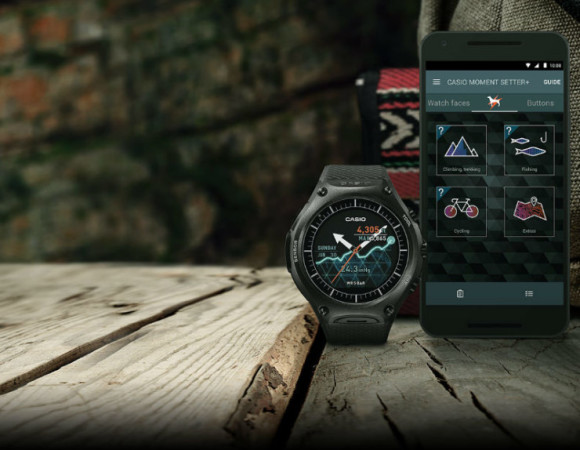 Meet Casio's Android Wear Offering: The Smart Outdoor Watch #CES2016