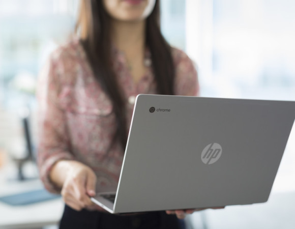 Google & HP Team Up Again For The All-Metal Chromebook 13