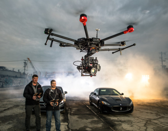 DJI's Latest Drone, The M600, Was Made Heavy Cameras
