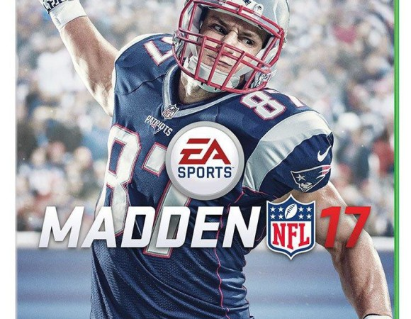 Rob Gronkowski Lands The Cover For Madden NFL 17