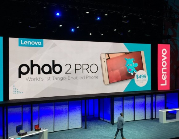 Meet The 1st Project Tango Device: The Phab 2 Pro #LenovoTechWorld