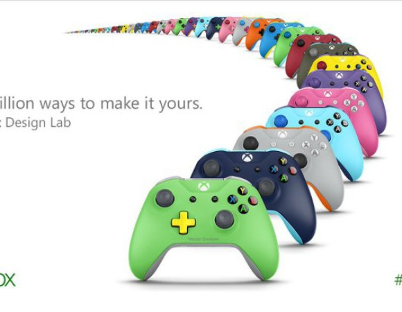 Get A Custom-Colored Controller w/ Xbox Design Labs #E32016