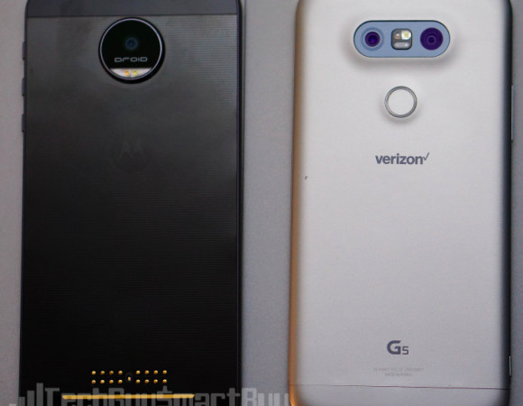 Battle: LG G5 Vs. Moto Z