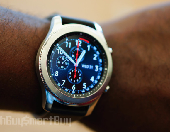 Samsung's Gear S3 Adds A Larger Display, GPS, & LTE To The Mix #IFA2016