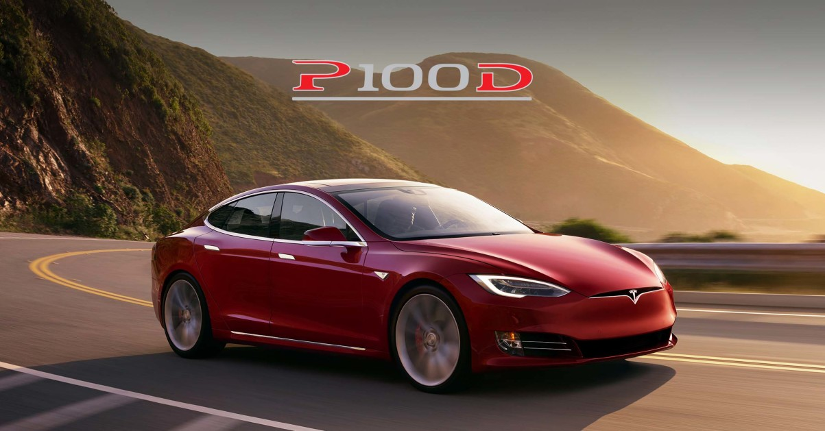 tesla just made their fastest vehicle w the model s p100d. Black Bedroom Furniture Sets. Home Design Ideas