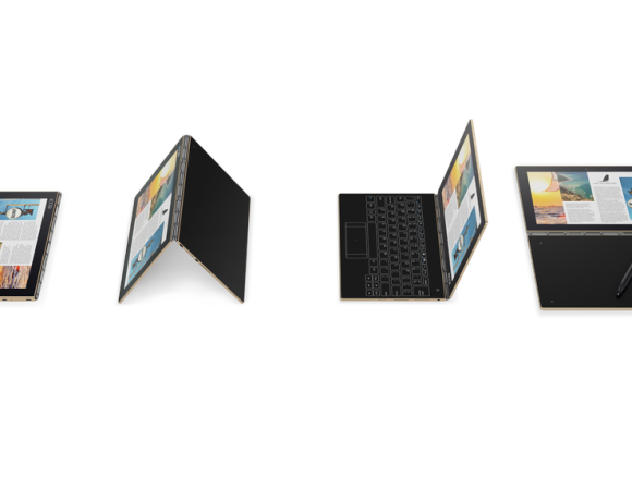 The Lenovo Yoga Book Is A New Type Of Tablet #IFA2016