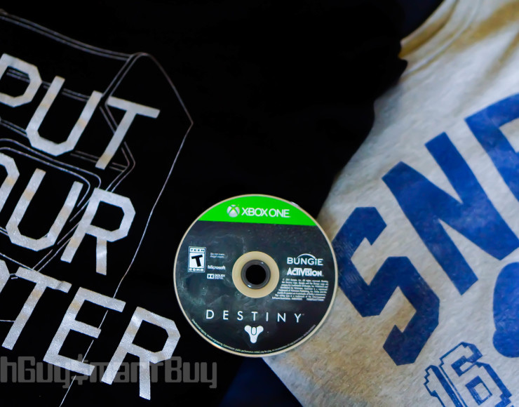 Holiday Giveaway: Bitmap'd Tee & Destiny: The Collection (Xbox One)