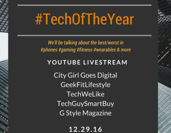 We're Talking #TechOfTheYear w/ Techies Tonight On YouTube #BestOf2016