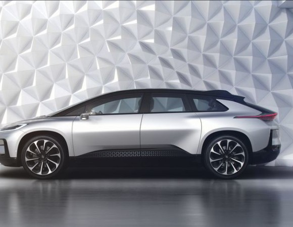 Faraday Future's 1st Car To Take On Tesla Has Arrived #CES2017