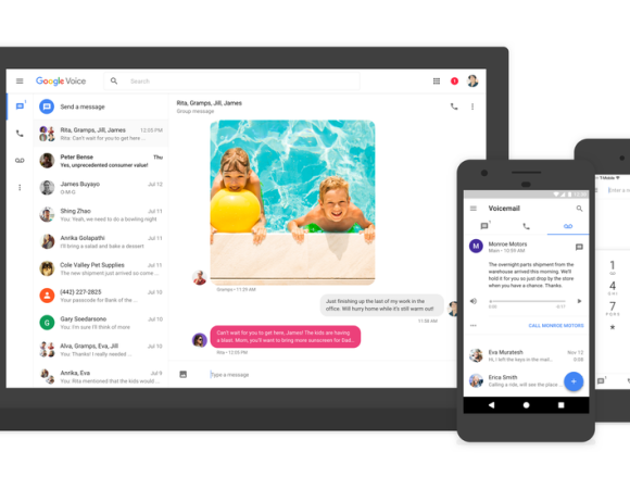 Say Hello To The New & Improved Google Voice App