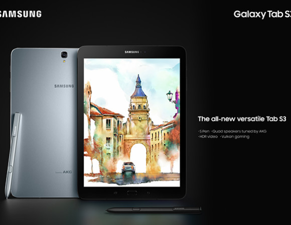 Samsung's Got A New Bag Of Tablets w/ The Galaxy Tab S3 & Galaxy Book #MWC17