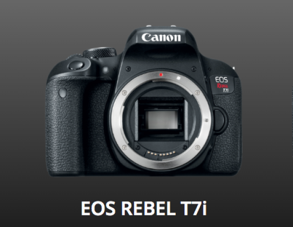Canon Updates Their Consumer Shooters w/ The Rebel T7i, 77D, & M6