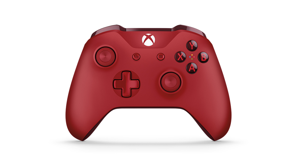xbox red controller