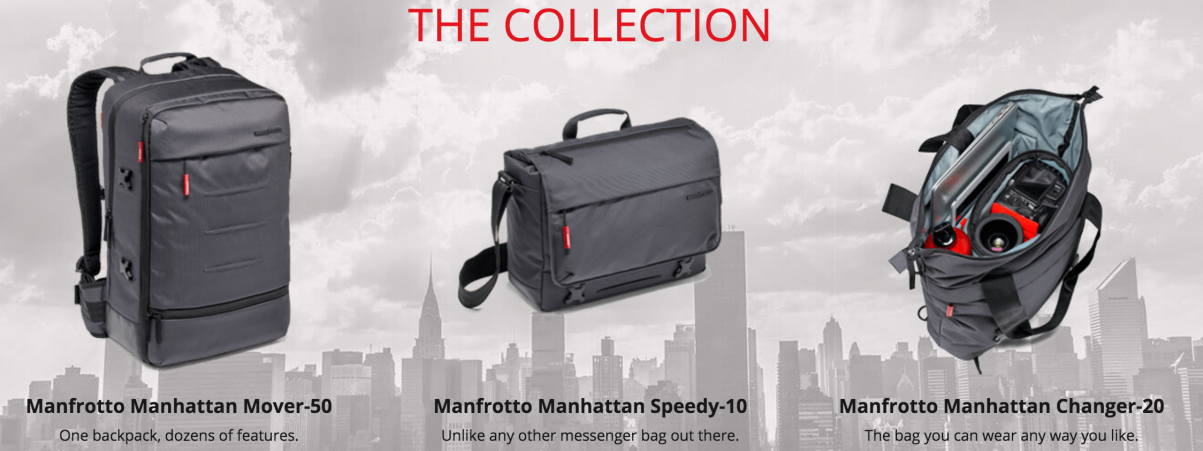 Manfrotto Manhattan Bags 2