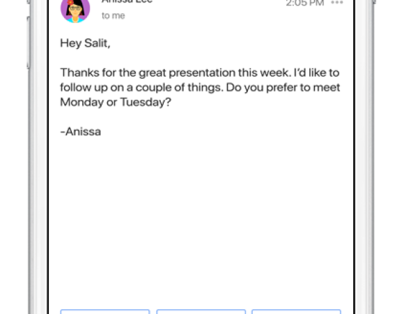 AI-Powered Smart Reply Is Coming To Gmail #io17