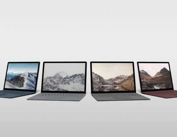 Meet The Surface Laptop: Microsoft's Windows 10 S Flagship