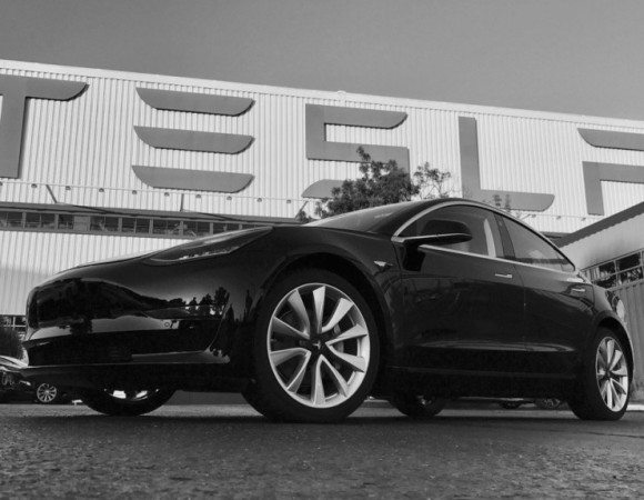 This Is The Final Look & 1st Production Of The Tesla Model 3