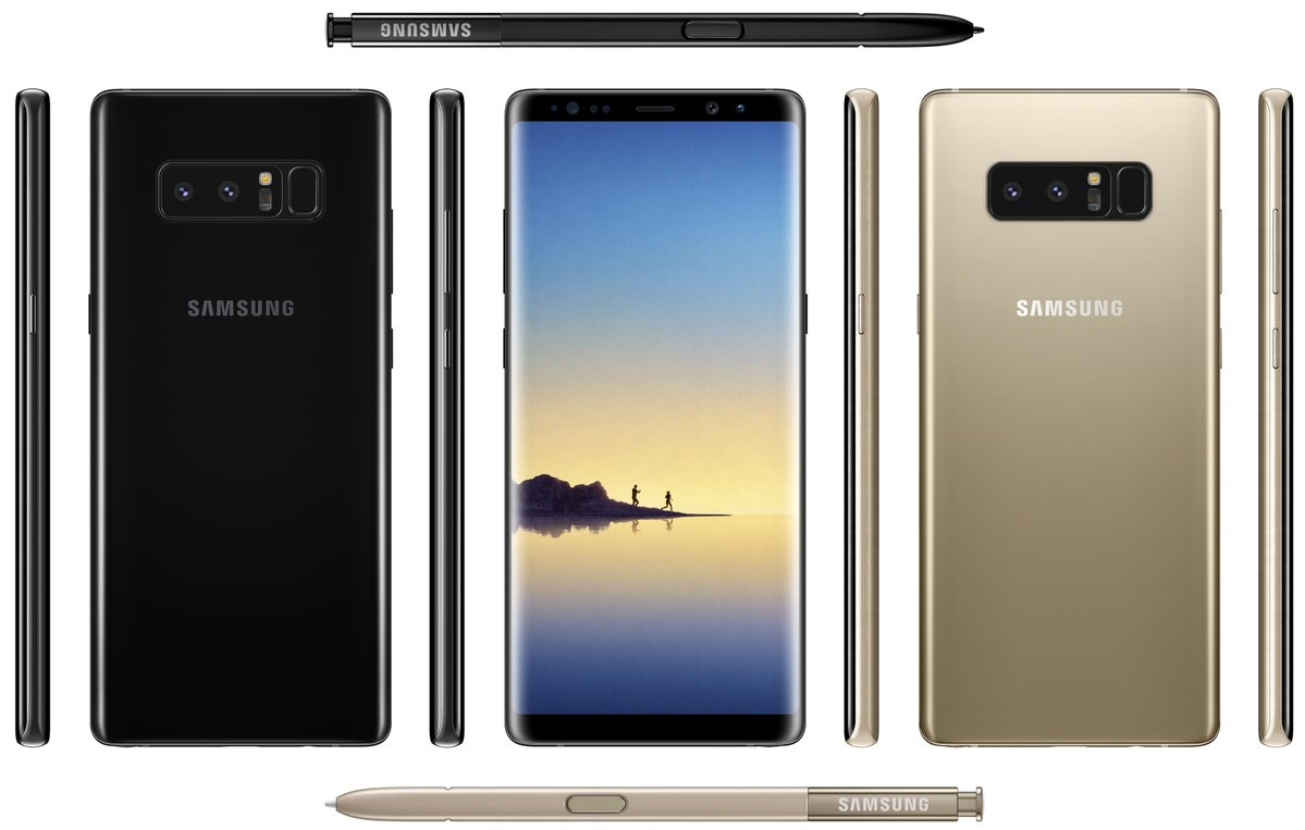 note 8 real
