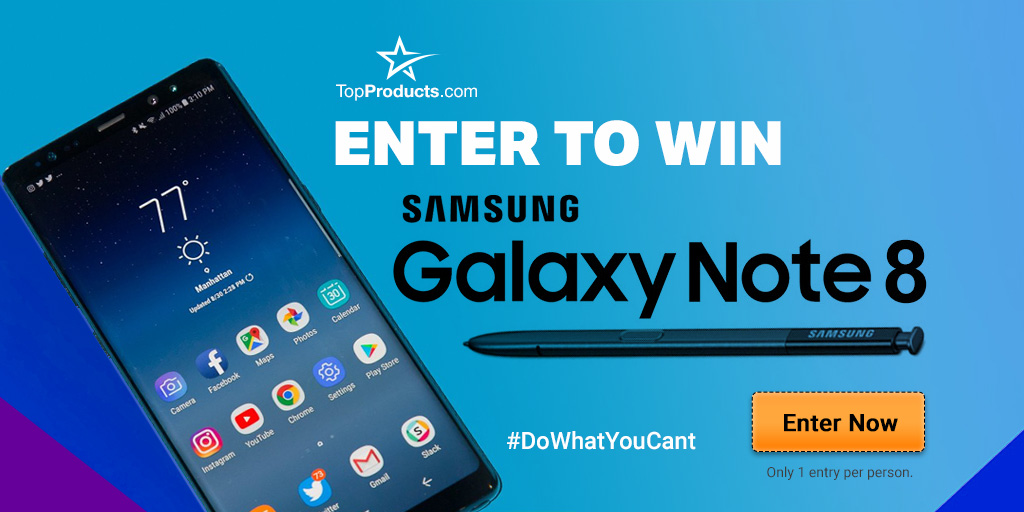 Note 8 giveaway