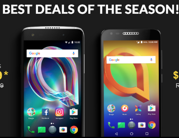 Black Friday: Save On The Alcatel A30 & Idol 5S At Amazon