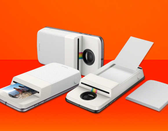 Motorola's Latest Moto Mod Is A Polaroid Insta-Share Printer