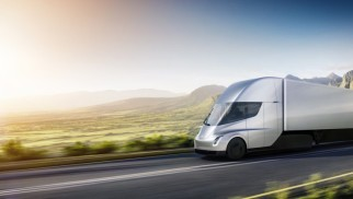 Say Hello To Tesla's Electric Semi Truck