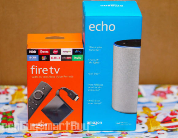 Need Alexa In Your Life?  Win This 2nd-Gen Amazon Echo & 4K Fire TV On Us