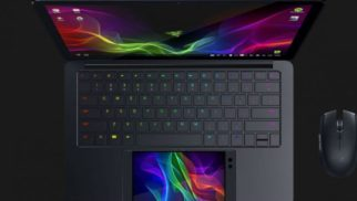 The Razer Phone Powers Their New Project Linda Laptop #CES2018