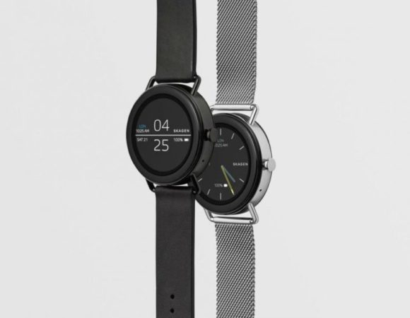 Android Wear Comes To Skagen w/ The New Falster Smartwatch #CES2018