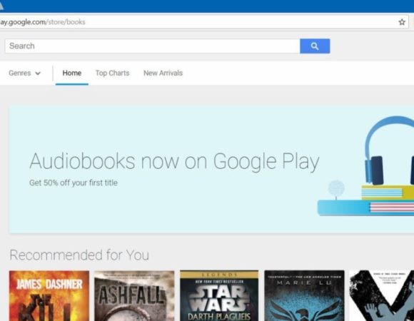 Subscription-Free Audiobooks Are Available On Google Play