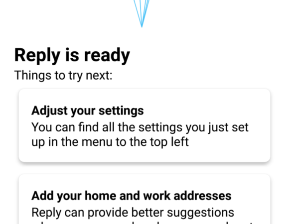Try Google's Reply App w/ Smart Replies Right Now