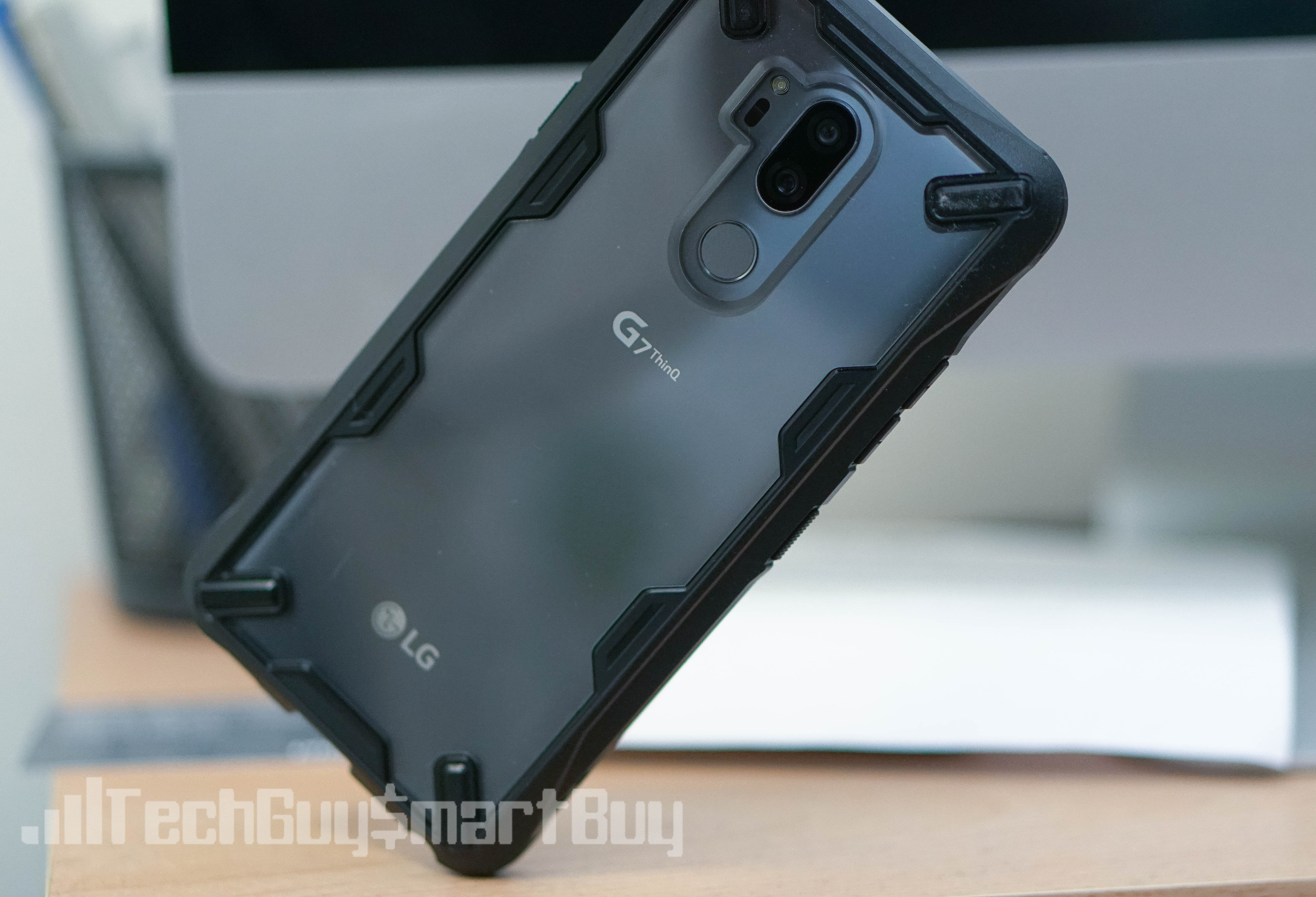 premium selection 9292f 20c4b Review: Ringke Fusion X Case For The LG G7 ThinQ