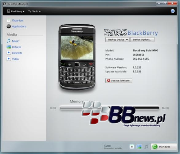 Take A Look At The New Media-Friendly BlackBerry Desktop
