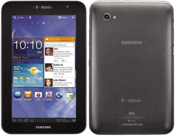 T-Mobile Announces The 4G Samsung Galaxy Tab 7 0 Plus