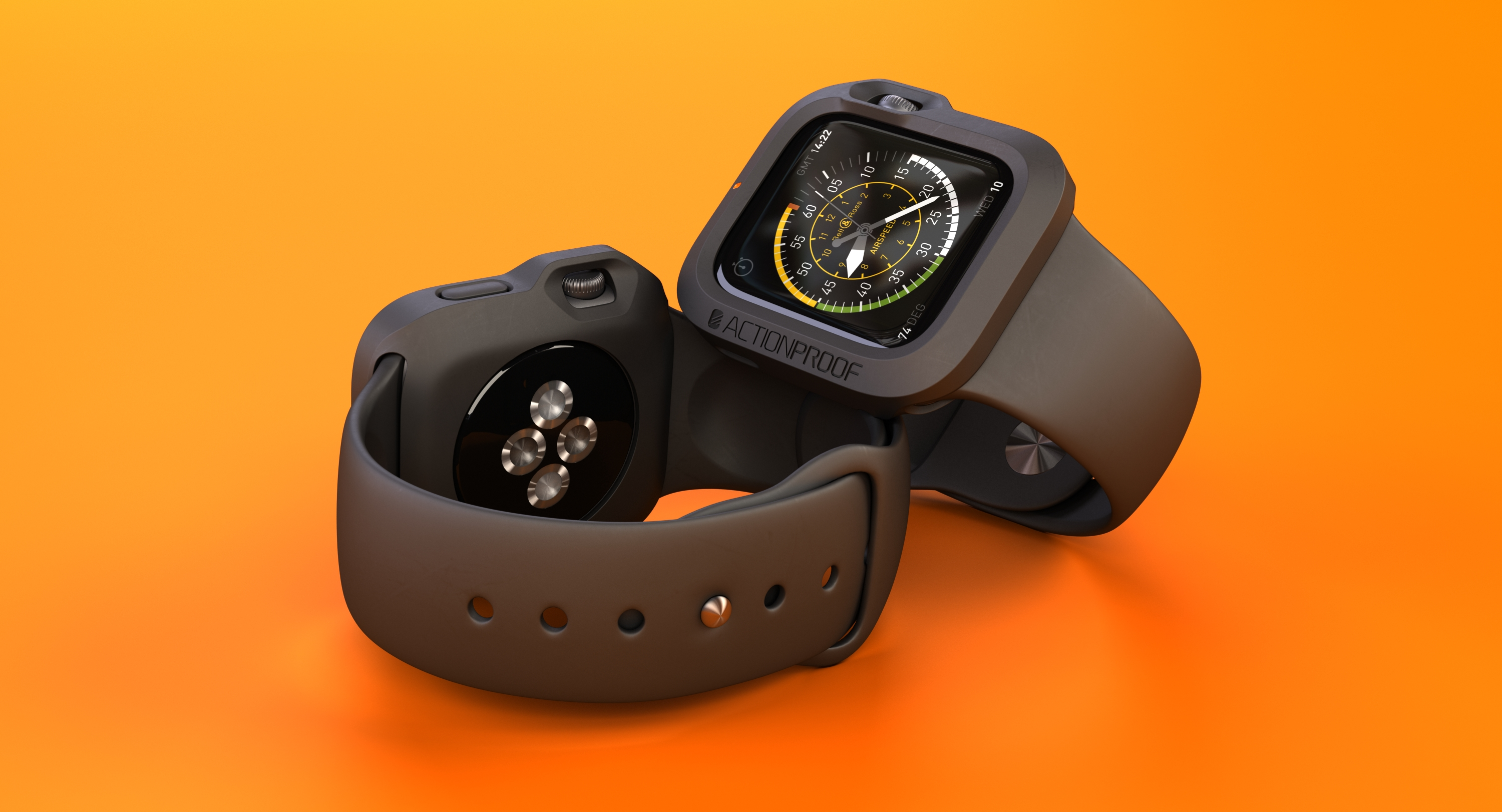 The ActionProof Bumper: The Only Apple Watch Protection