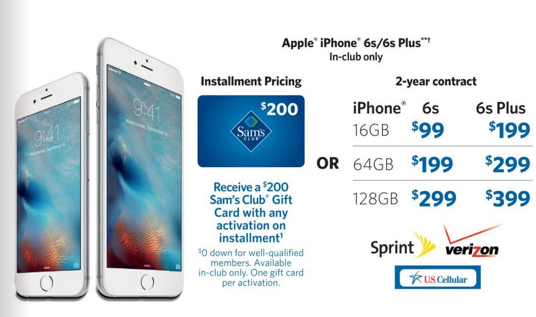 sams club iphone smart buy save on a new iphone at sam s club 12910