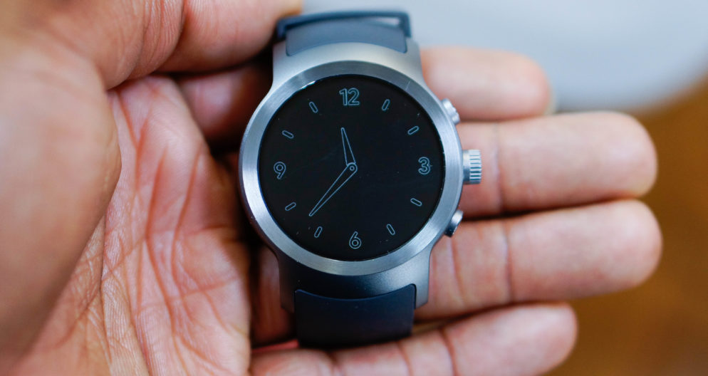 A Hybrid Wear OS Smartwatch Called The LG Watch Timepiece Is