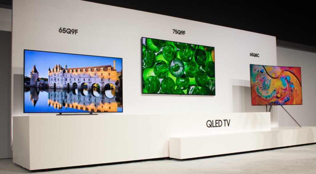 Samsung's New 2018 QLED 4KTVs Adds Bixby & Smart Home Control
