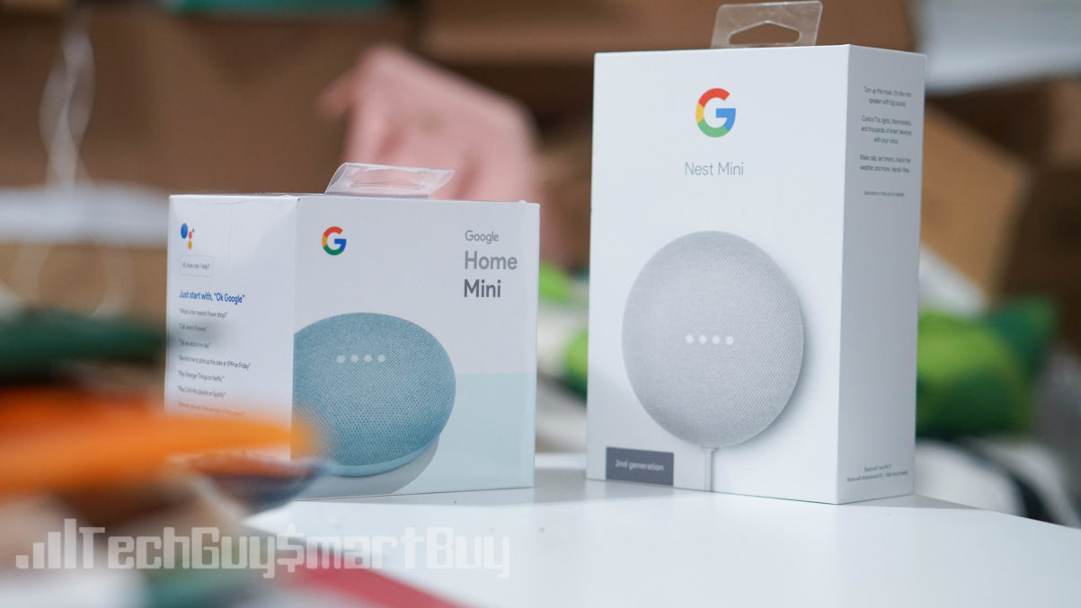 Google Home Mini Vs Google Nest Mini What S The Difference